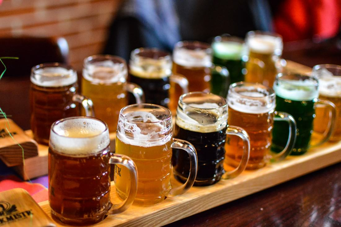 Craft beer in pilsen czech republic
