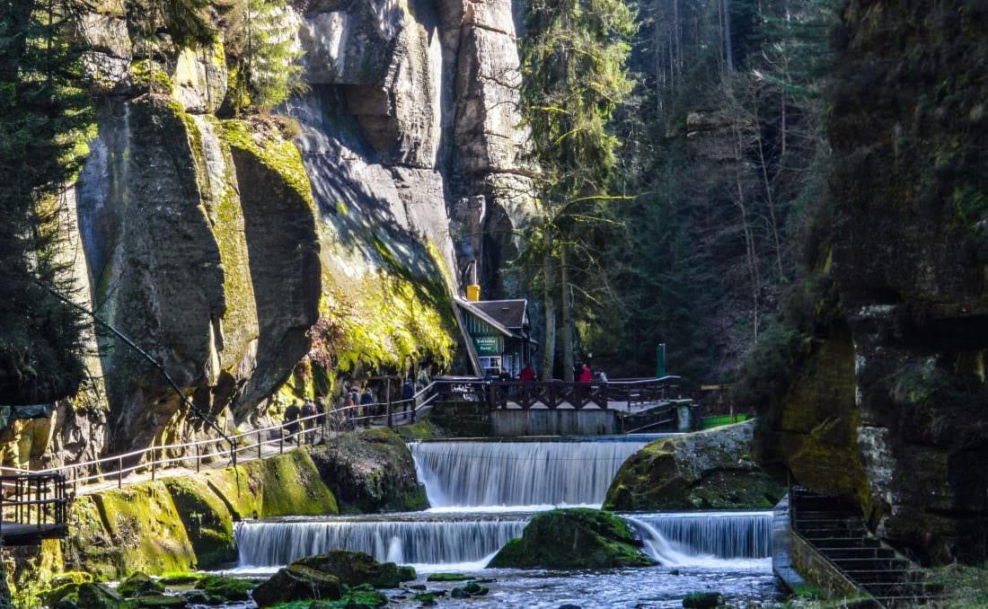 Soutěsky Kamenice - The Gorges of Kamenice