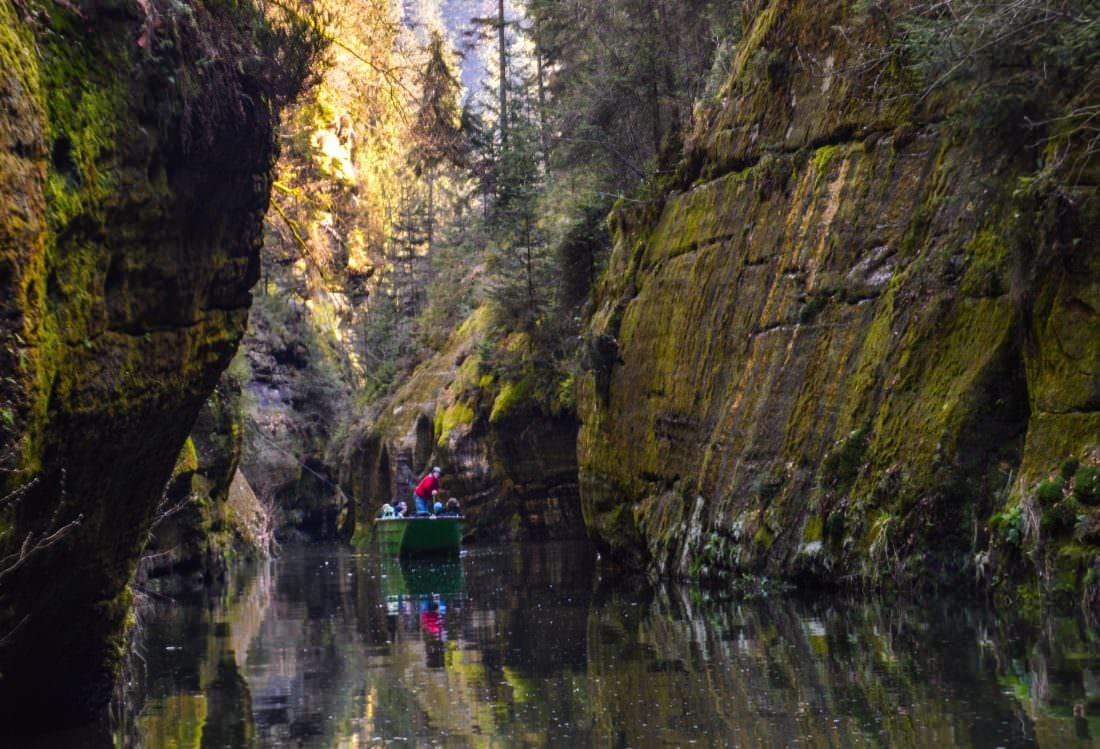 Bohemian Switzerland Soutěsky Kamenice - The Gorges of Kamenice