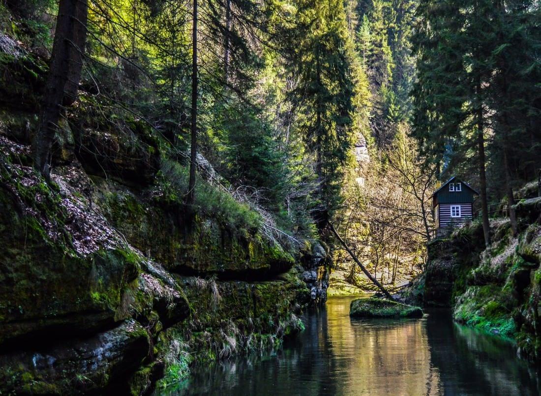 Day trips from Prague Soutěsky Kamenice - The Gorges of Kamenice