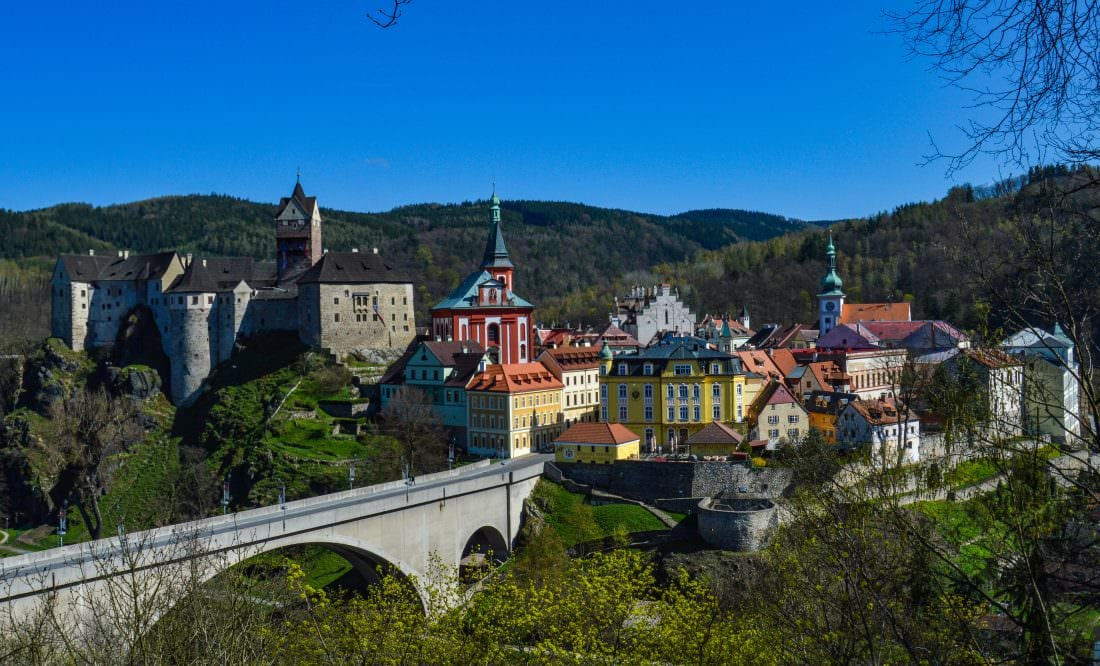coolest castles in the czech republic - Loket, Czech Republic