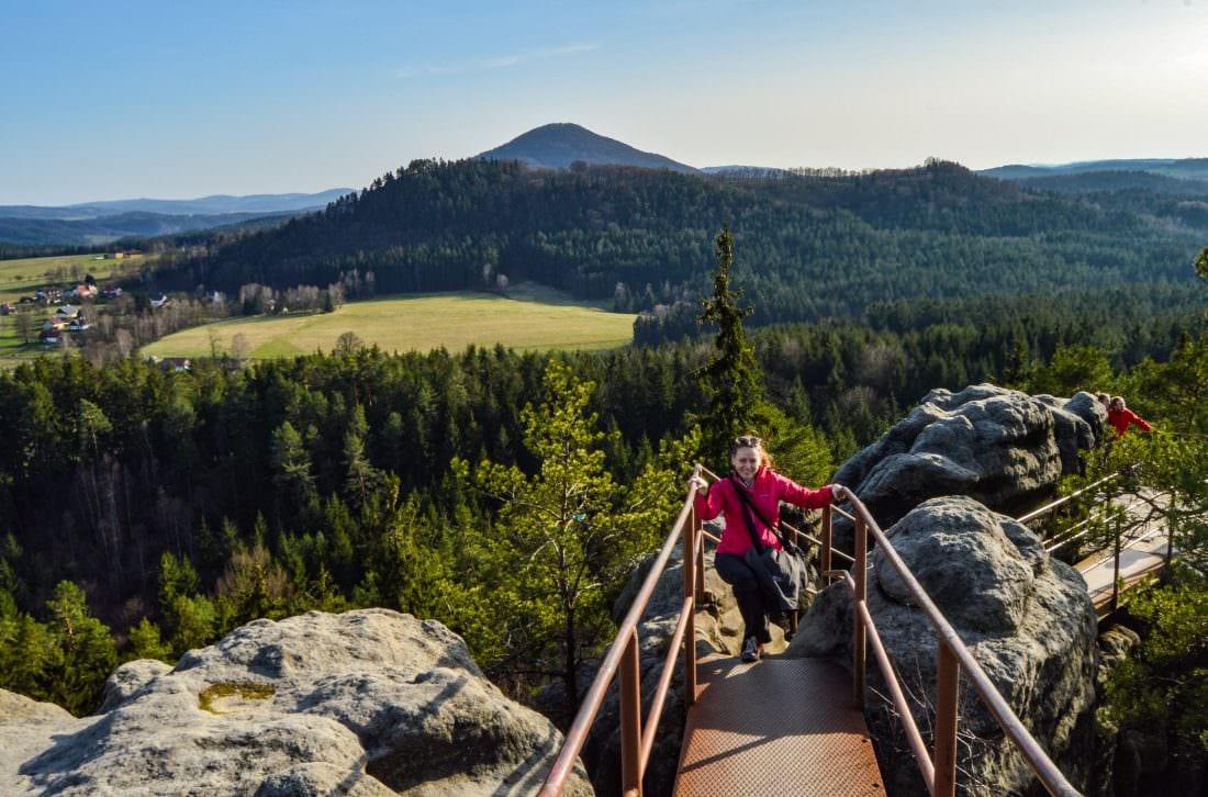 Saunstejn - The Bandit's Keep Bohemian Switzerland