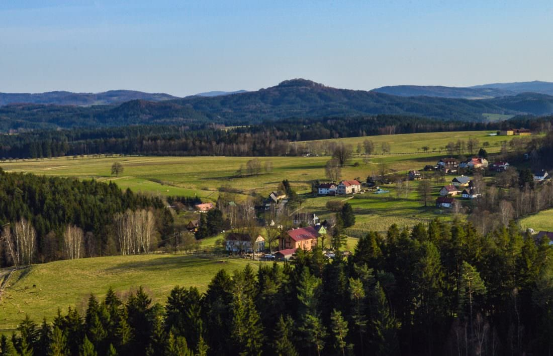 View from Saunstejn - The Bandit's Keep Bohemian Switzerland