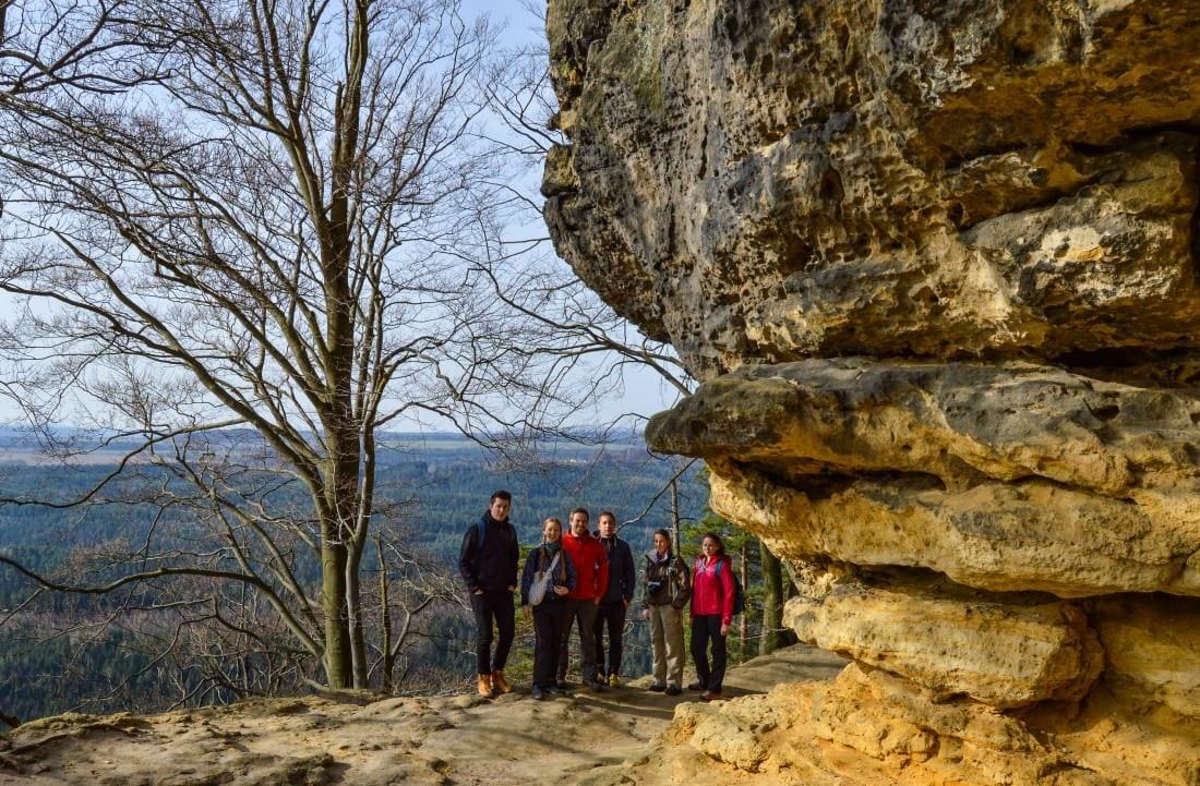 Gabrielina Stezka - Gabriela's Trail Hiking in Bohemian Switzerland