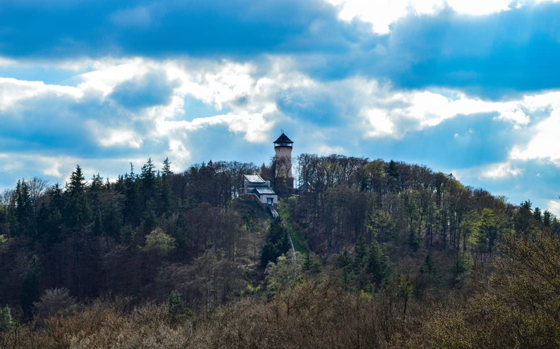 Diana Observation Tower in Karlovy Vary