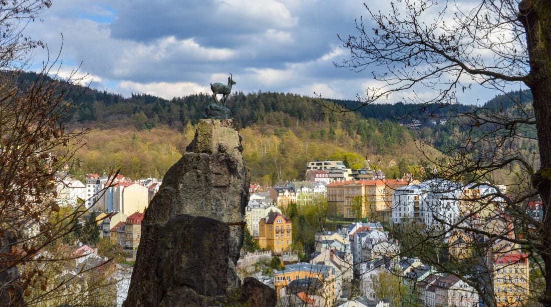 hiking in Karlovy Vary Czech Republic
