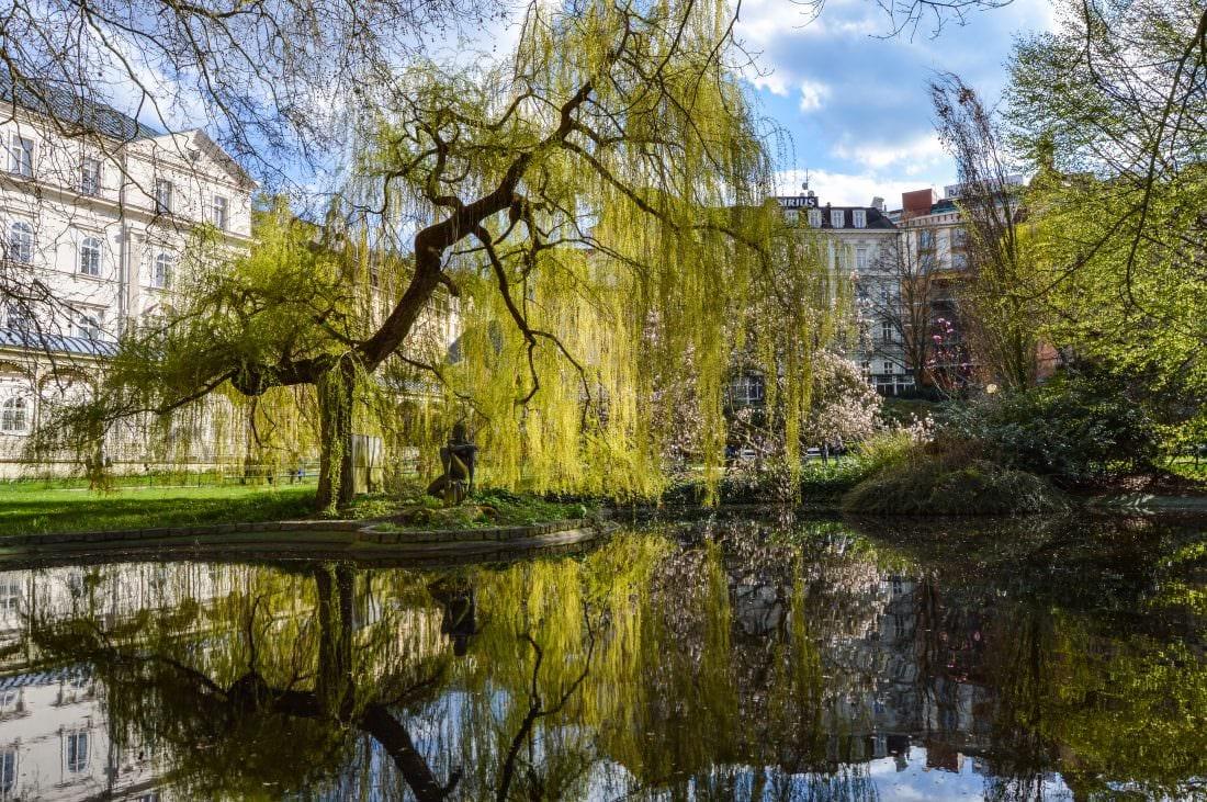 things to do in Karlovy Vary, walk around Dvořák Park Karlovy Vary