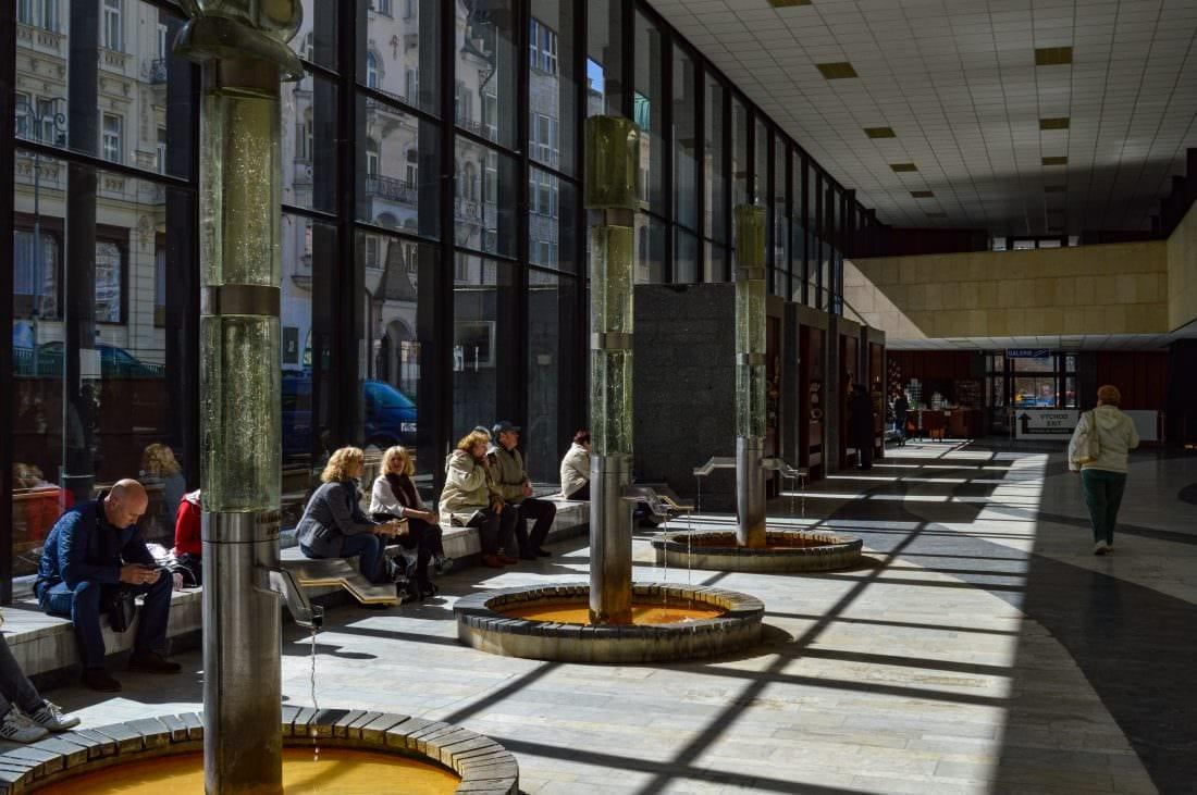 Hot Spring Colonnade Karlovy Vary