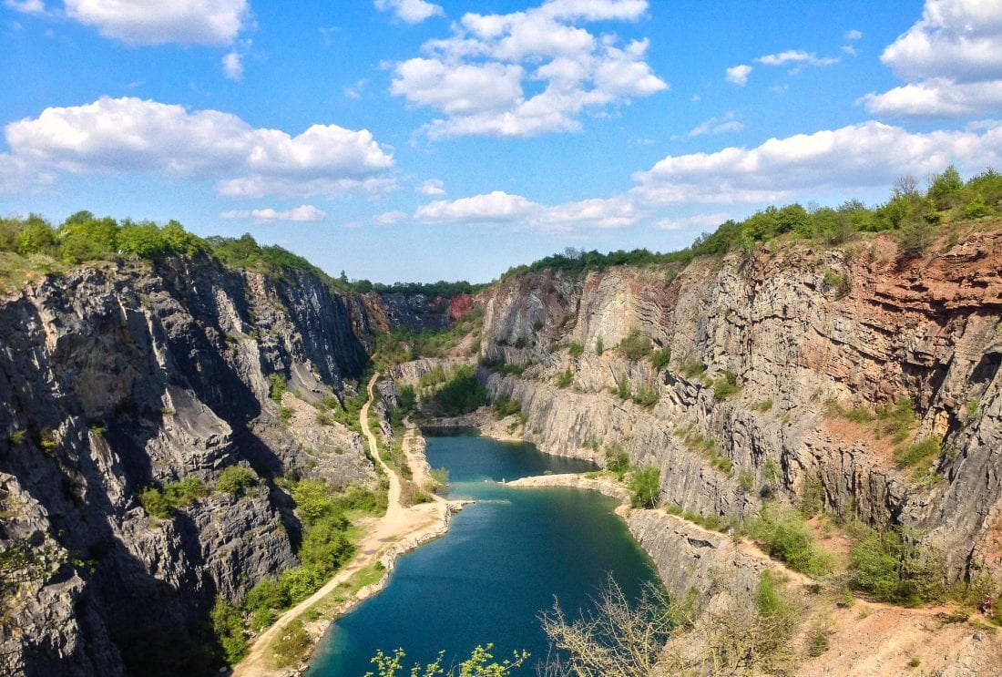 Velká Amerika (Big America Quarry), a perfect and super close trip from Prague