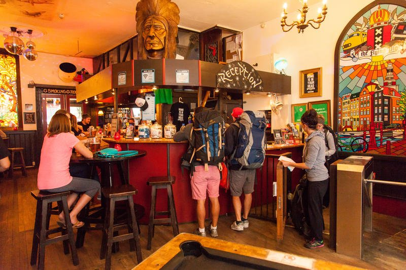 Flying Pig Downtown, Best hostels in Amsterdam