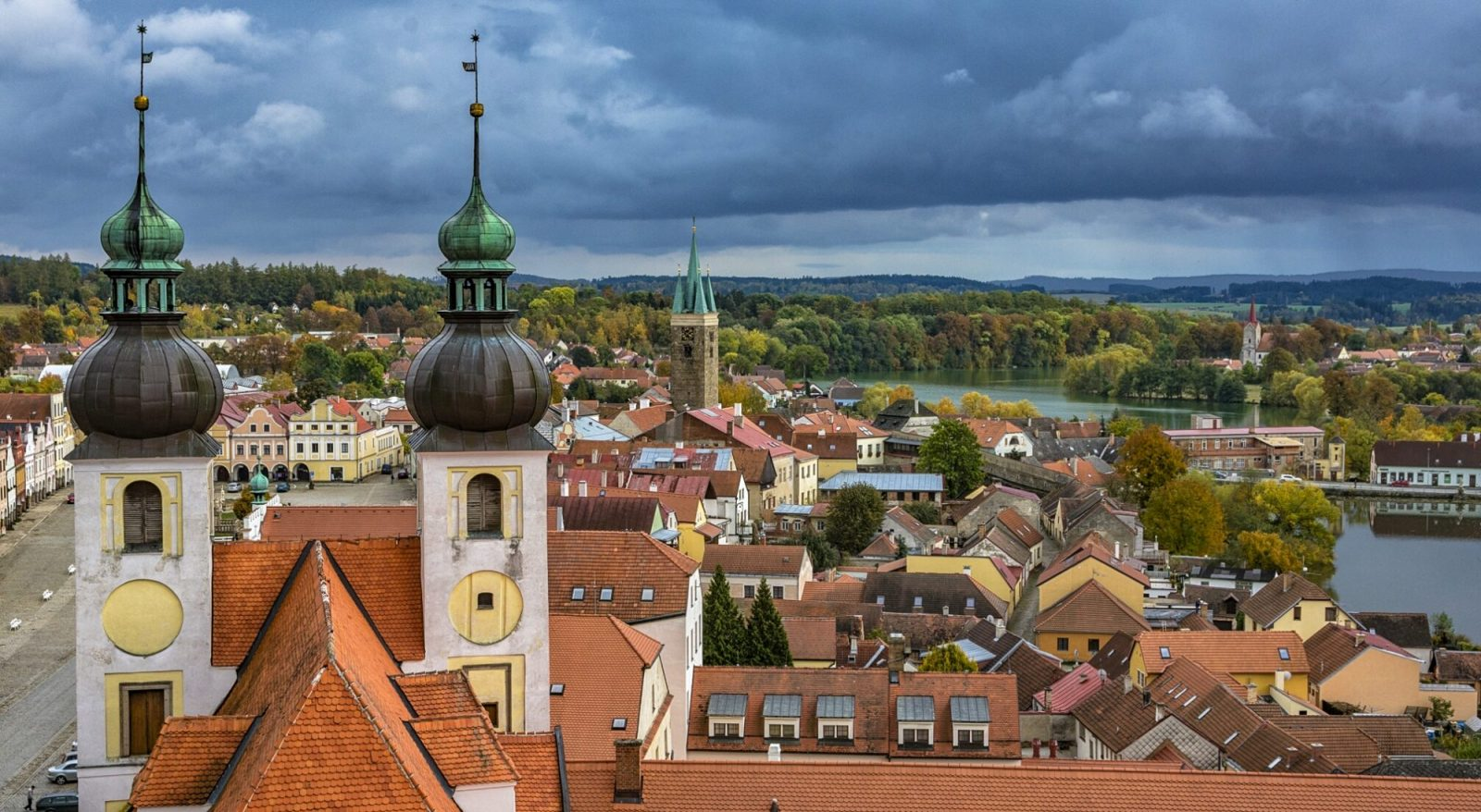 trips from Prague - Telc in Vysocina