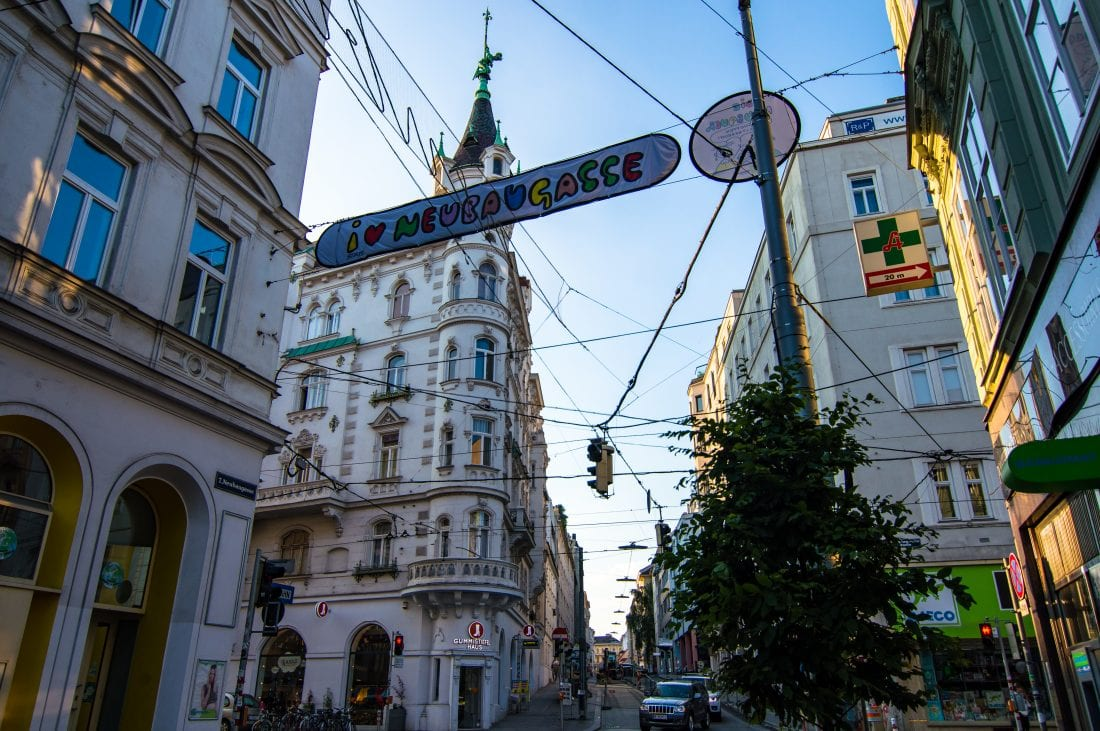 Neubaugasse in Vienna - things to do in Vienna