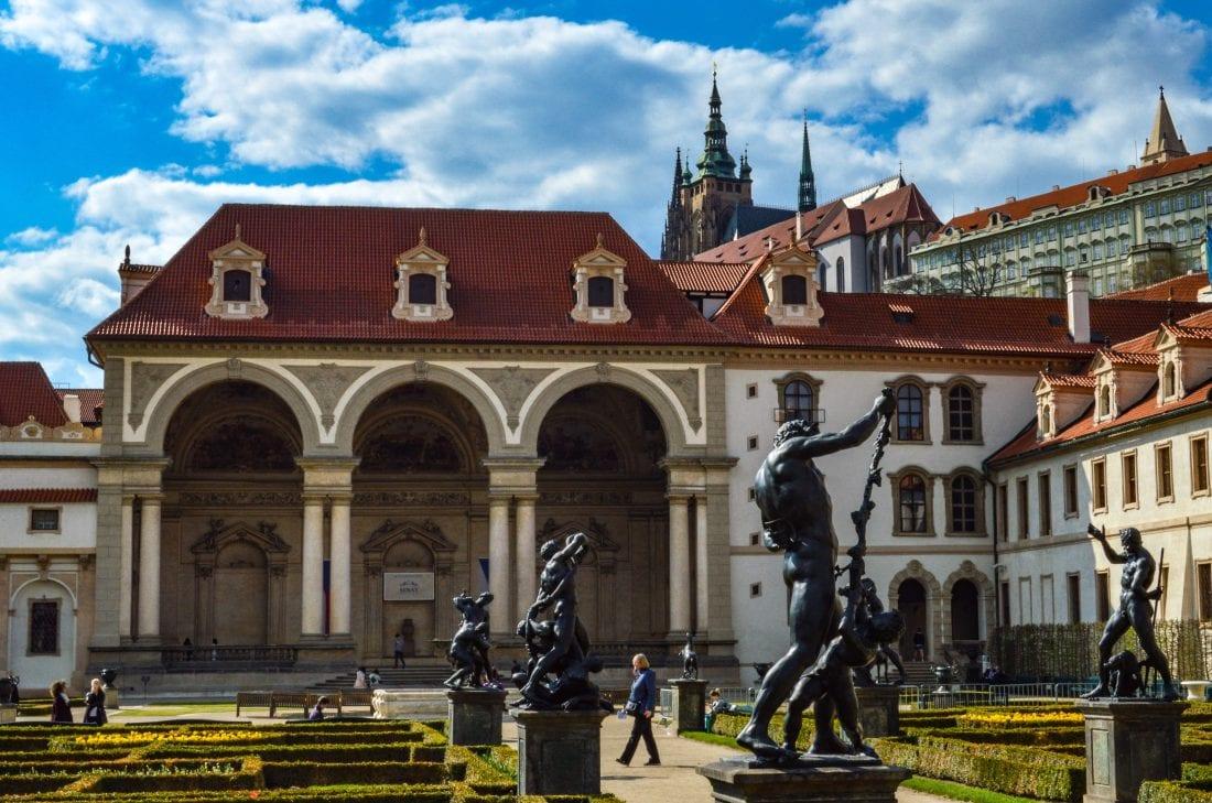 Gardens in Prague