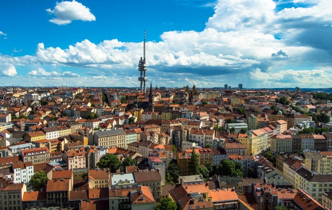 Vinohrady and Zizkov, Prague