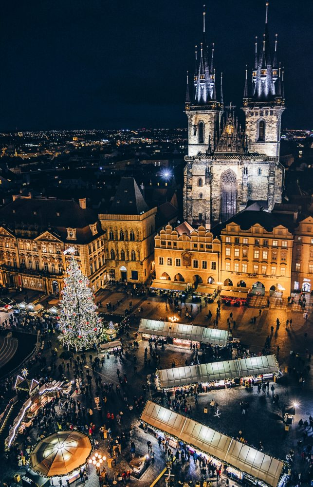 Prague Christmas Market Old Town Square