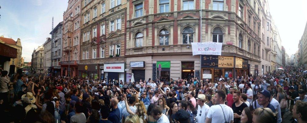 Krymska Street Prague