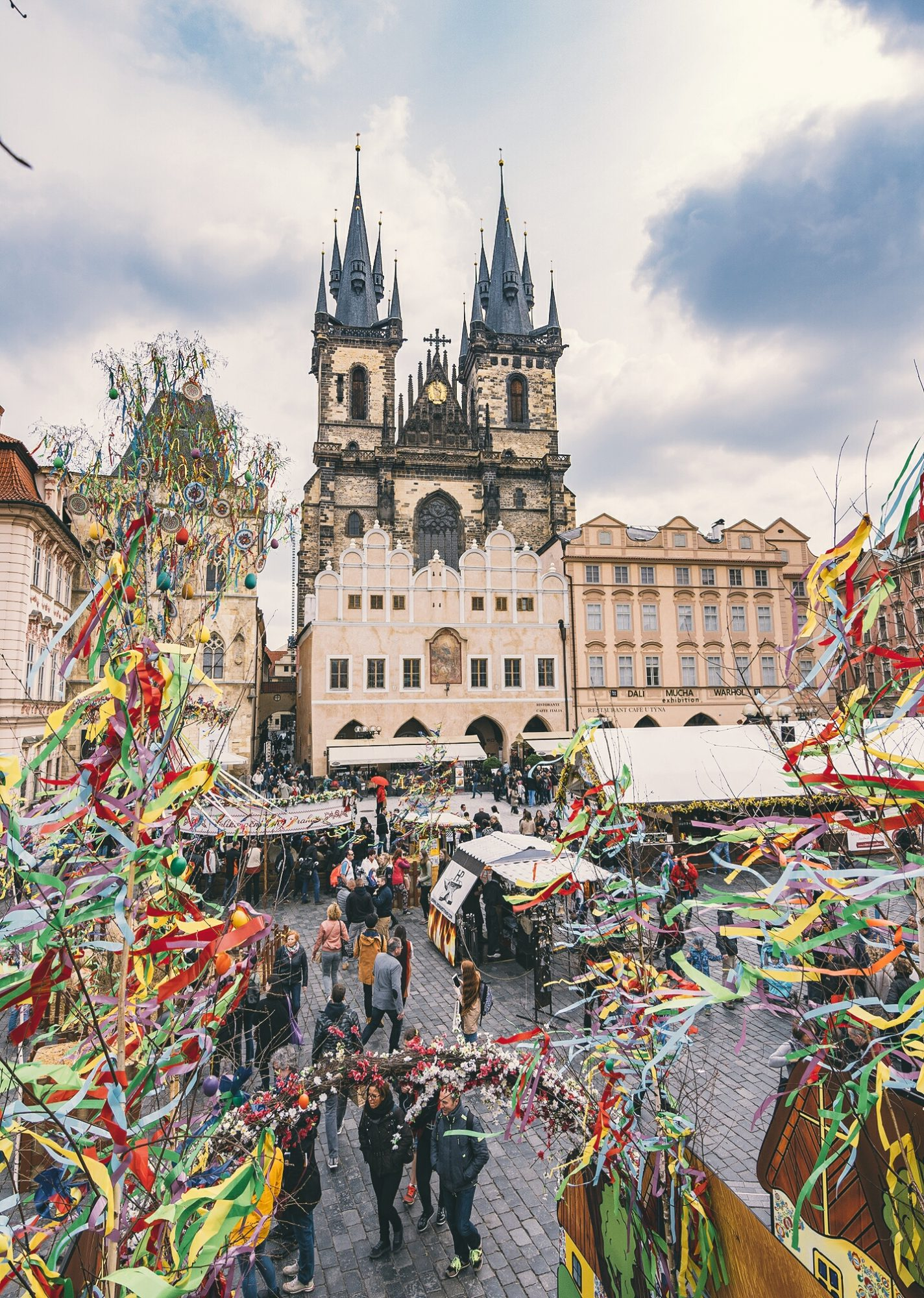 Easter in Prague's Old Town Square