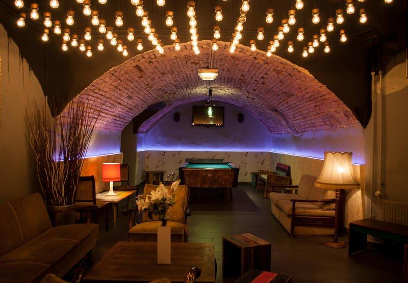 Best Party Hostel in Vienna Wombats City Hostel Vienna - The Lounge