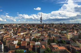 Off the beaten path in Prague. Tv Tower Prague.