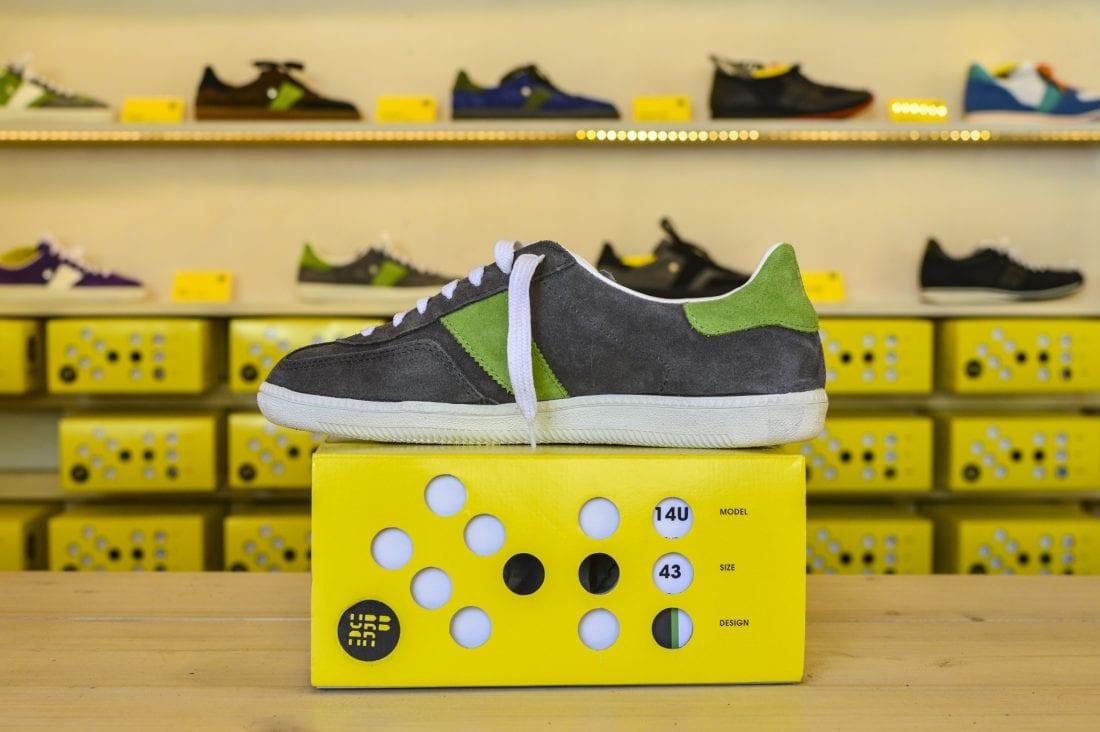Botas 66 shoe design, Prague