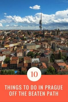 Prague Off the Beaten Path