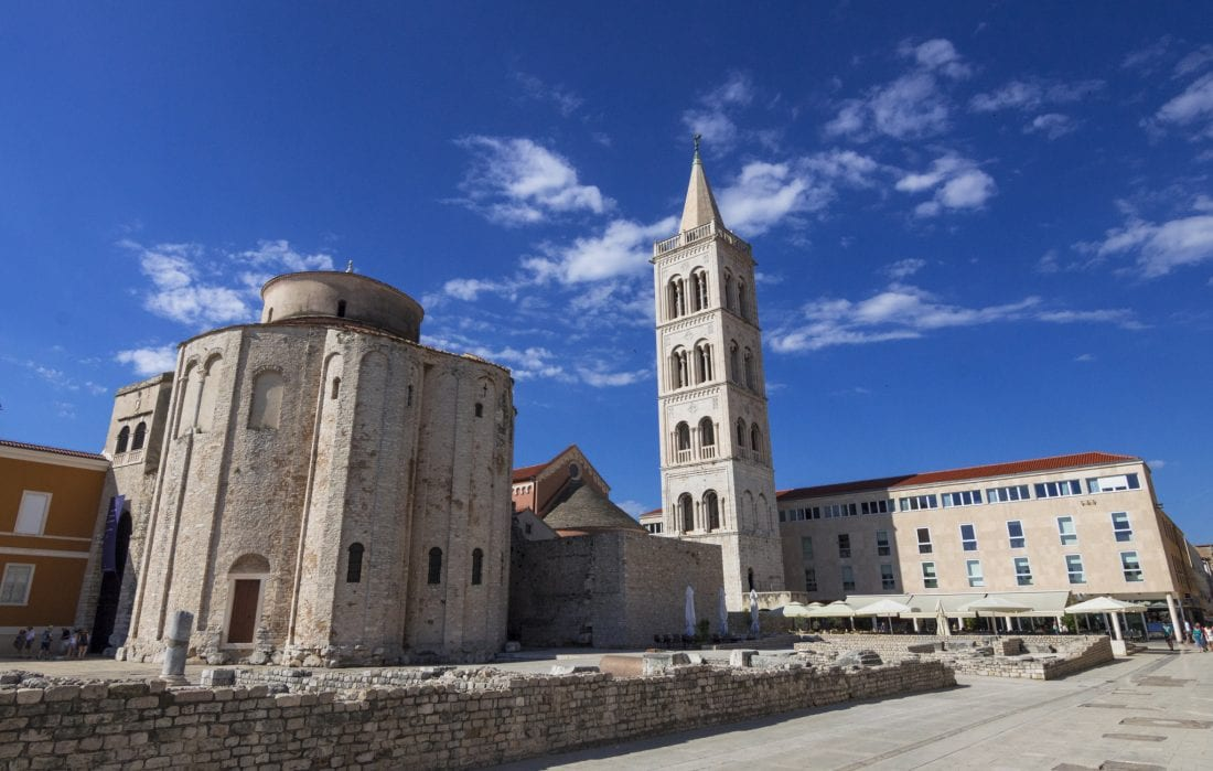 St. Anastasia Bell Tower and Church of St. Donat Zadar Croatia