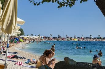 beaches in Split Croatia