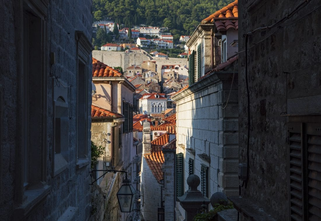 Travel Croatia - Explore the side streets of Dubrovnik