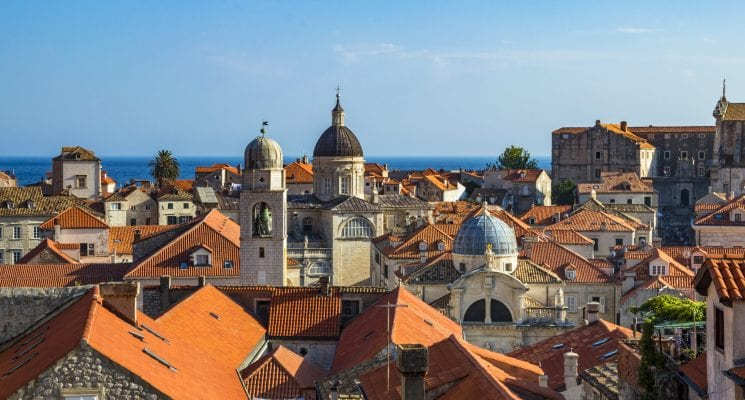 rooftop views in Dubrovnik, things to do in Croatia