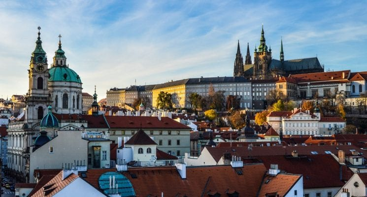 Prague architecture and Prague Castle