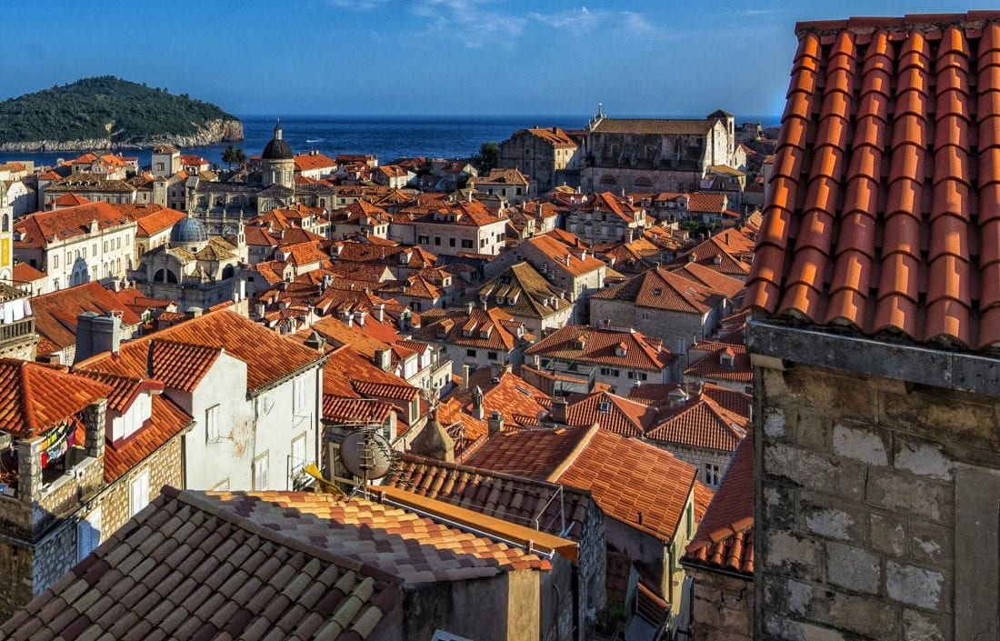 Things to do in Dubrovnik - View of Dubrovnik from the City Walls