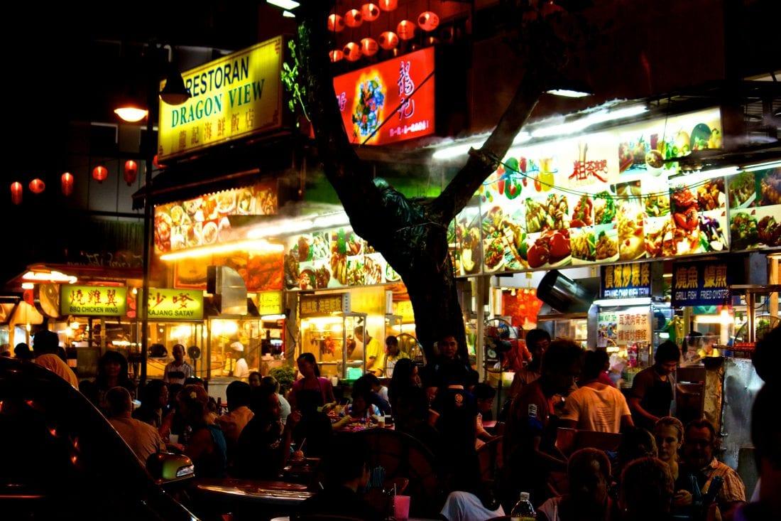 Street Food in Kuala Lumpur
