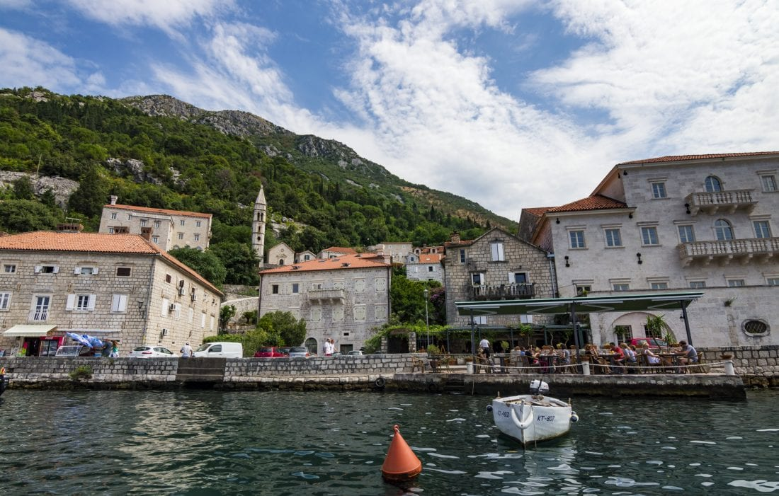 Visiting Perast on Kotor Bay Montenegro
