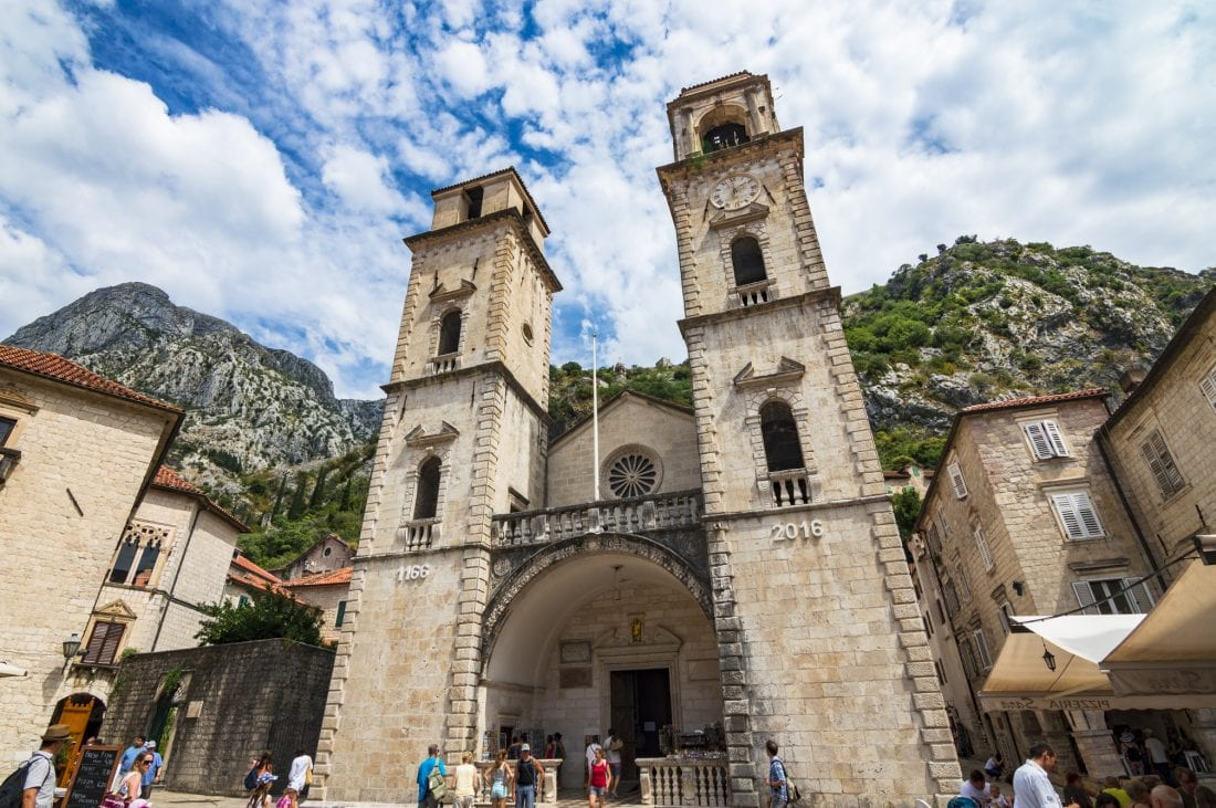 Cathedral of Saint Tryphon in Kotor Montenegro