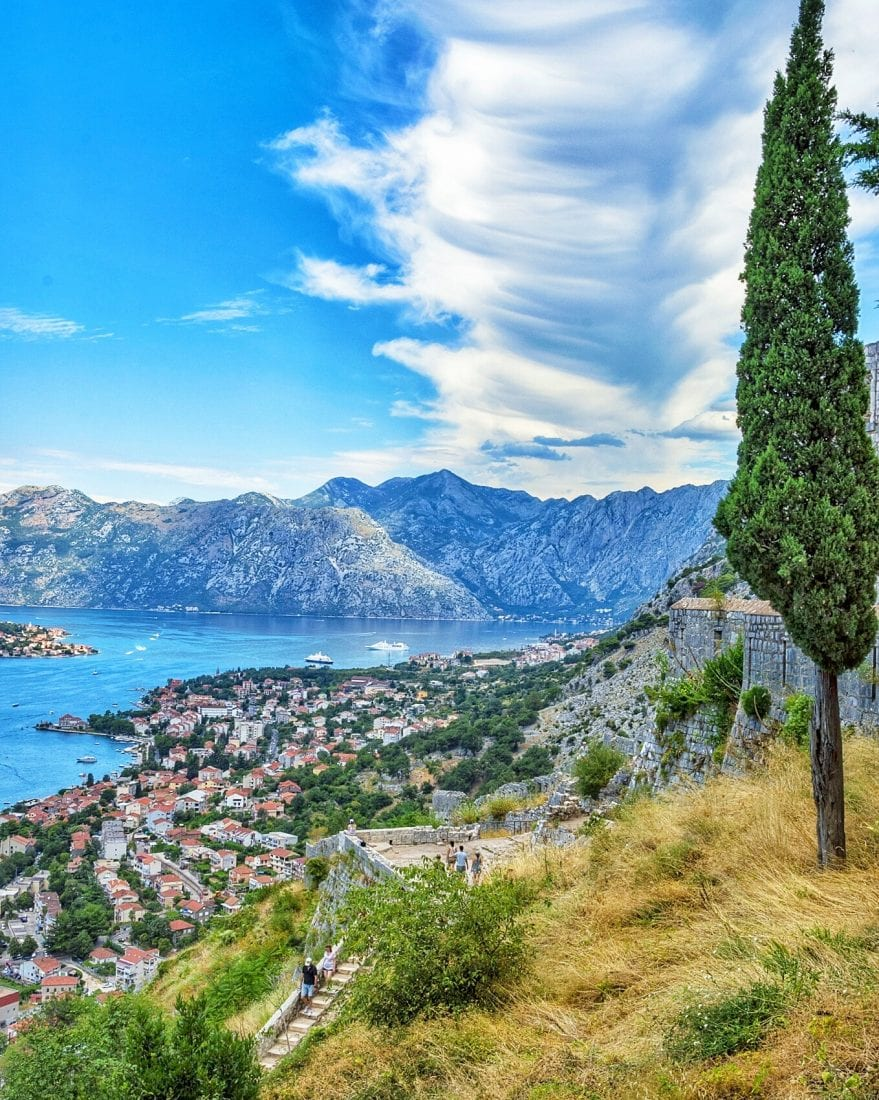 hiking in kotor