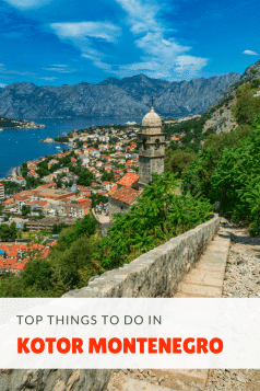 What to do in Kotor, Montenegro