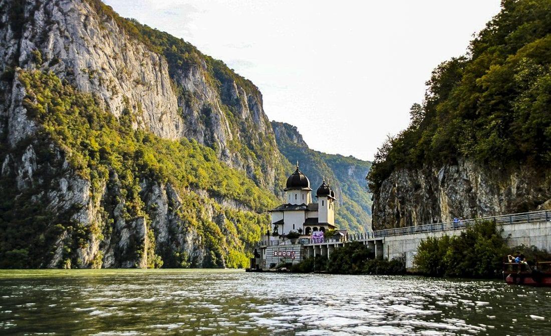 small kazan gorge mraconia monastery romania