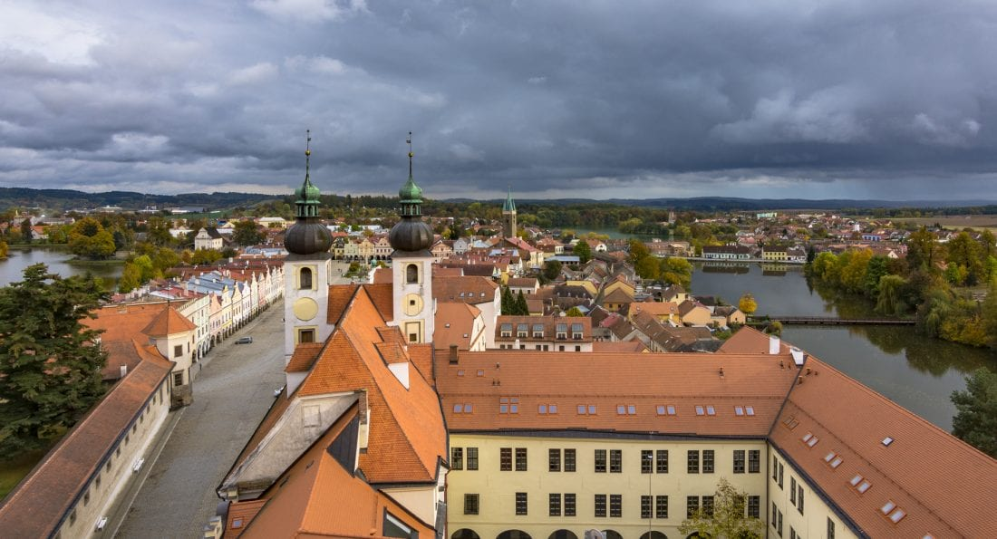 Day trips from Prague - Telc Old Town Square