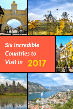 Best Countries to Visit in 2017