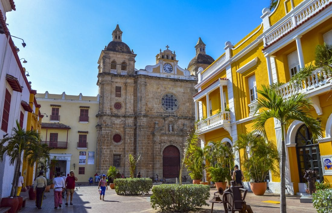 Cartagena, Colombia one of the countries to visit in 2017
