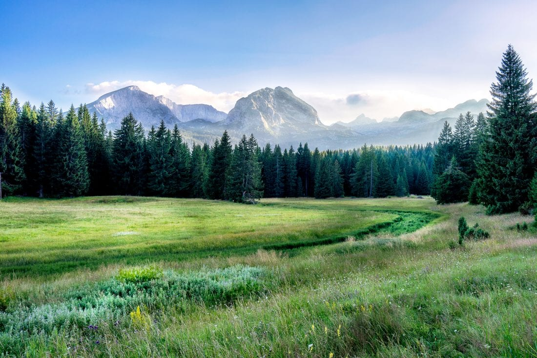 hiking in Montenegro, travel destinations 2017