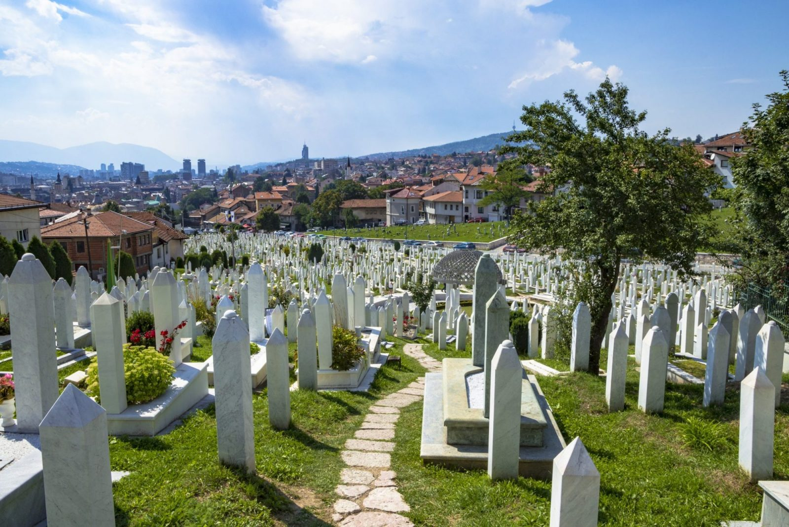 visit a cemetary and pay homage to the fallen in Sarajevo, things to do in Bosnia