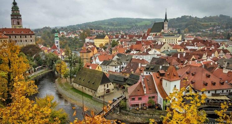 Cesky Krumlov, day trips from Prague