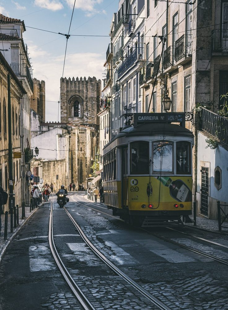 things to do in Lisbon - ride the 28 tram
