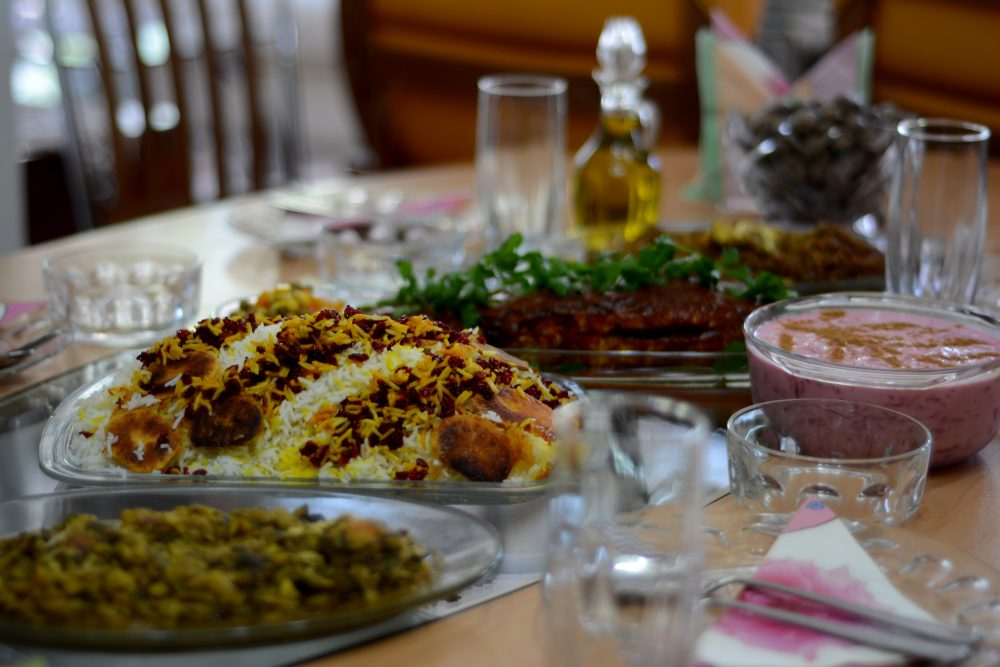 things to do in Iran - iranian food