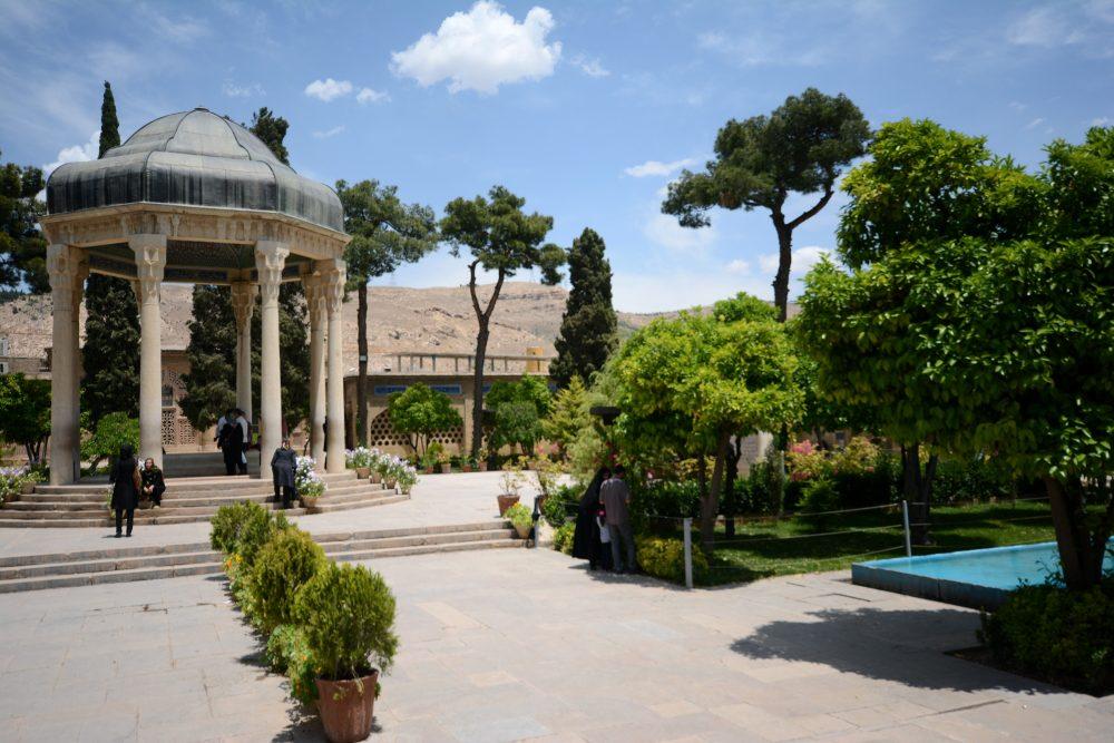 hafez mausoleum shiraz iran