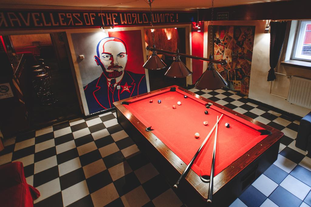 the best hostels in krakow, goodbye Lenin hostel