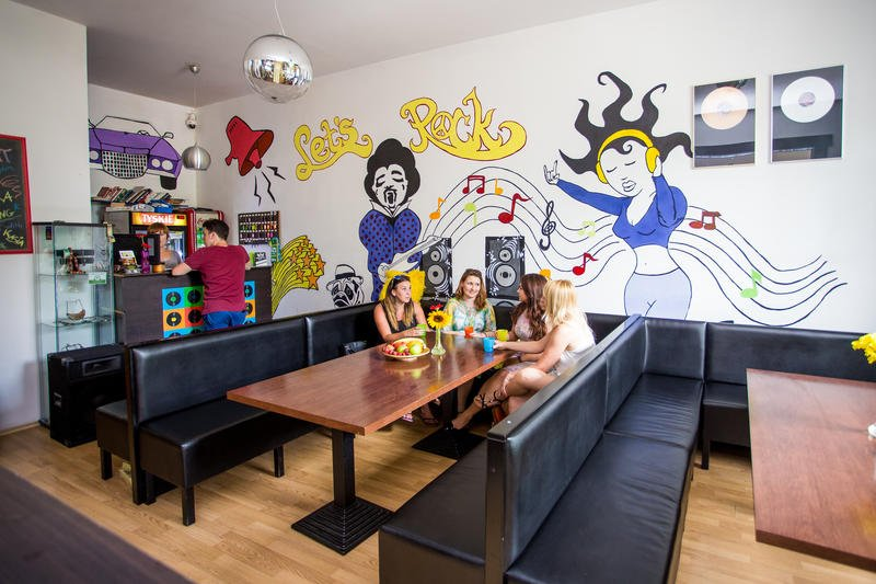 the best hostels in krakow, lets rock hostel