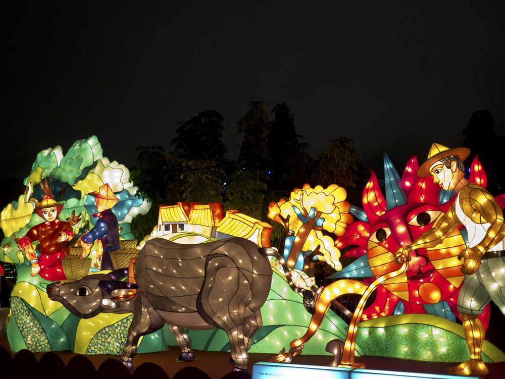 Taipei Expo Park Lantern Festival