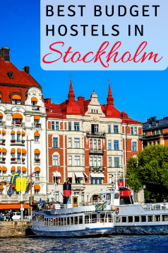 best budget hostels in stockholm
